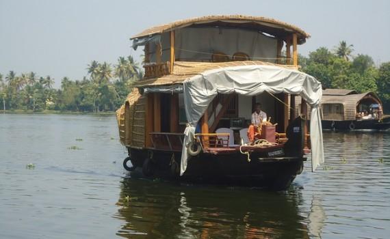 croisière fluviale Inde su sud